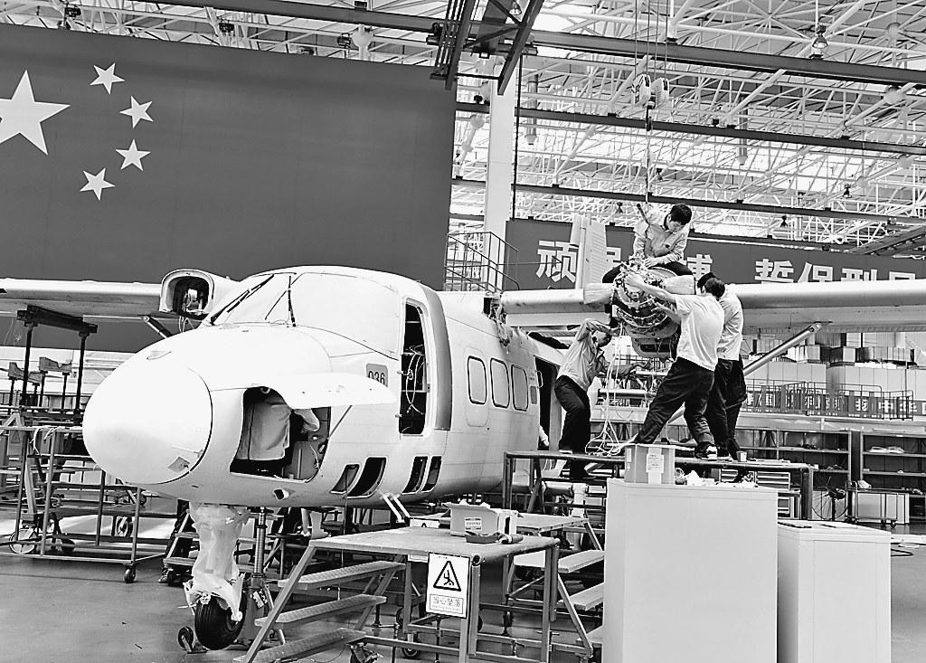 数字化设计模型,可以实现360°调转,不但提升了效率而且提高了飞机
