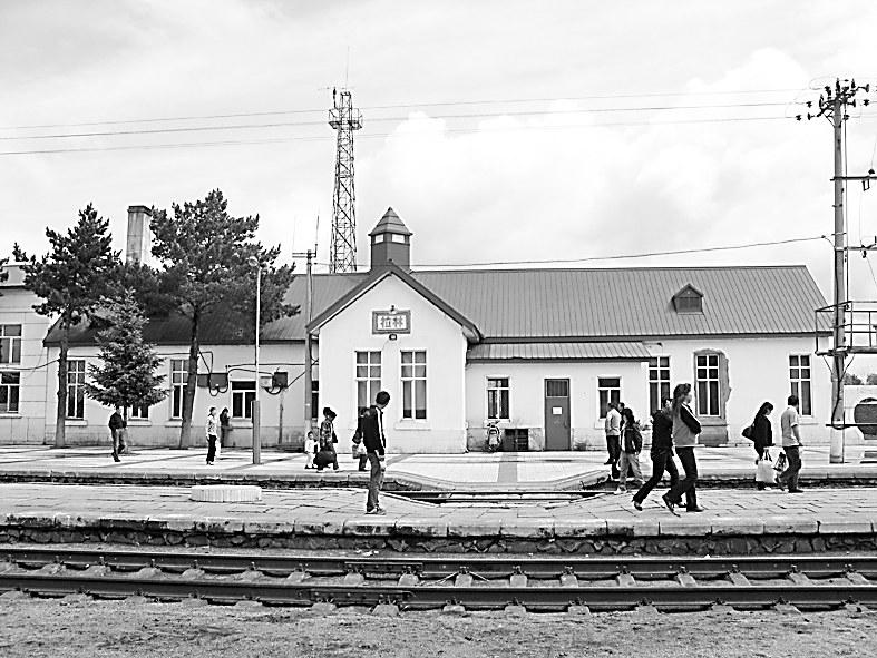 哈尔滨至吉林拉法的铁路