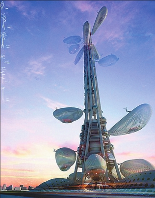未来的超级建筑