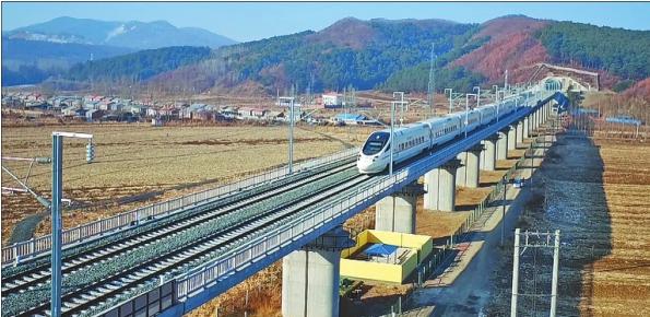 哈牡高铁开始运行试验
