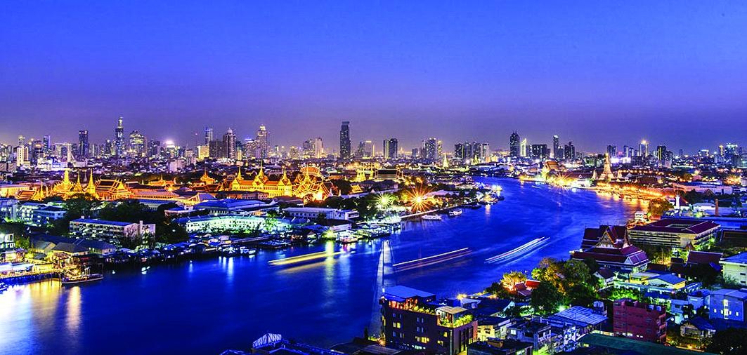 泰国海岛夜景图片欣赏